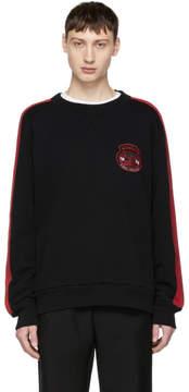 Diesel Black and Red S-Bay Sweatshirt
