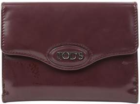Tod's Red Leather Purses, wallets & cases