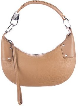 Gucci Pebbled Leather Hobo - BROWN - STYLE