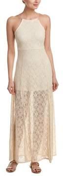Cotton Candy Crochet Maxi Dress.