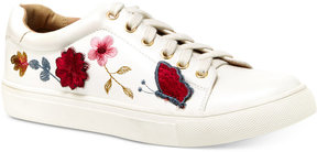 Nanette Lepore Nanette by Wildflower Embroidered Lace-Up Sneakers Women's Shoes