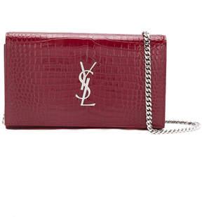 Saint Laurent classic Kate satchel - RED - STYLE