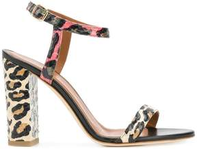 Malone Souliers animal print sandals