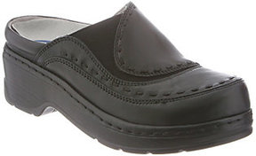 Klogs USA Leather Open Back Clogs - Melbourne