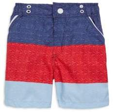 Andy & Evan Little Boy's Striped Swim Shorts