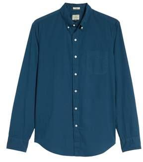 J.Crew Slim Fit Stretch Secret Wash Garment Dyed Sport Shirt