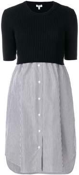 Kenzo knitted shirt dress