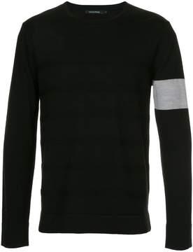 GUILD PRIME stripe detail jumper