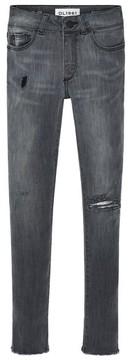 DL1961 Toddler Girl's Chloe Raw Hem Skinny Jeans