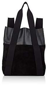 Proenza Schouler Women's Convertible Small Suede and Leather Backpack - Black