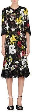 Dolce & Gabbana Women's Floral Silk-Blend Sheath Dress