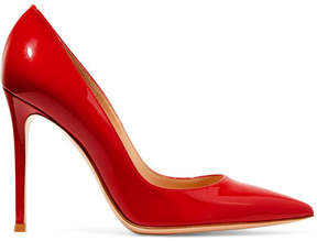 Gianvito Rossi 105 Patent-leather Pumps - Red
