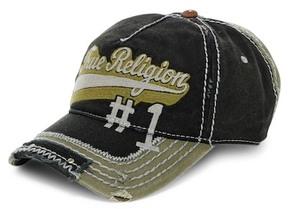 True Religion Script Baseball Cap