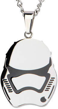 Star Wars FINE JEWELRY Stainless Steel Episode VII Stormtrooper Pendant Necklace