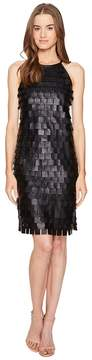 Escada Sport Lafring Leather Petal Dress