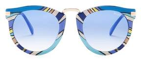 Emilio Pucci Women's Rounded Sunglasses