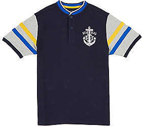 Nautica Toddler Boys' Deep Sea Henley Shirt (2T-3T)