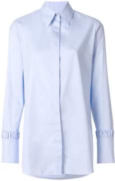 Victoria Beckham Victoria ruched sleeves shirt