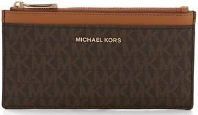 MICHAEL Michael Kors Signature Large Slim Colorblock Card Case
