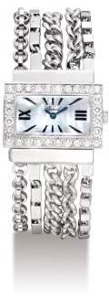 Chopard Diamond White Mother of Pearl Dial Ladies Watch