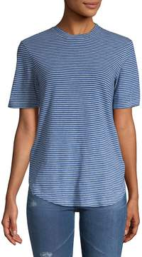 AG Jeans Women's Cone Striped Tee