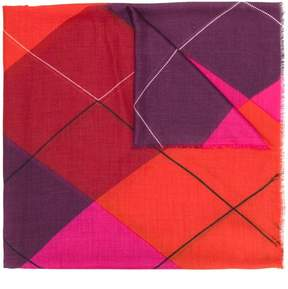 Stella McCartney graphic print scarf