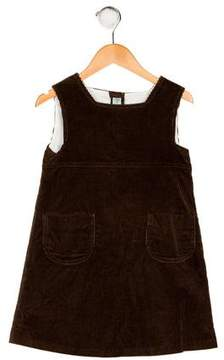Papo d'Anjo Girls' Corduroy Shift Dress