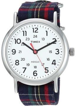 Timex Weekender 38 Fabric Slip-Through Strap Watches