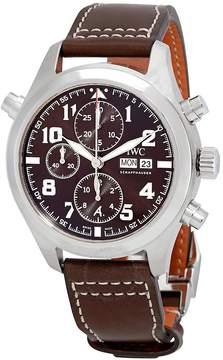 IWC Pilot Double Chronograph Automatic Men's Watch