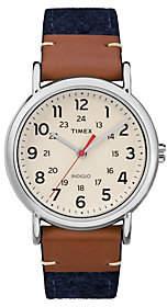 Timex Ladies Weekender Multicolor Strap AnalogWatch