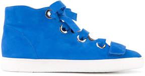 Derek Lam Suede Serena High Top Sneaker