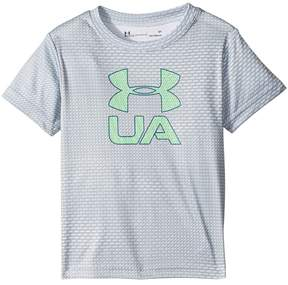 Under Armour Kids Sync Big Logo Short Sleeve Tee Boy's T Shirt