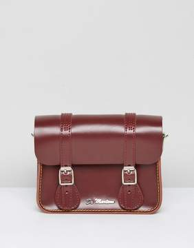 Dr Martens 7 Inch Red Leather Satchel