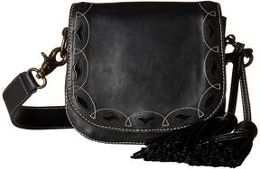 Frye Cut Out Mini Saddle Shoulder Handbags