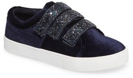 Kenneth Cole New York Girl's Kam Glitter Strap Sneaker