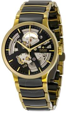 Rado Centrix Skeleton Dial Ceramic Men's Watch