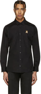 Moschino Black Bear Patch Shirt