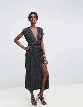 Bec & Bridge Blackbird Maxi Stripe Dress