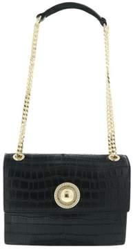 Versace EE1VRBBO8 Black Shoulder Bag