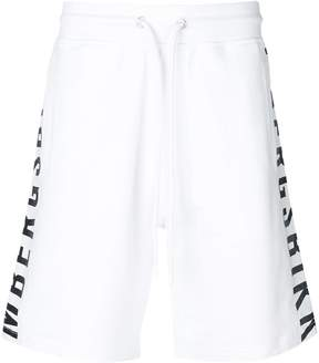 Dirk Bikkembergs side logo shorts