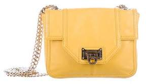 Rebecca Minkoff Leather Shoulder Bag - YELLOW - STYLE