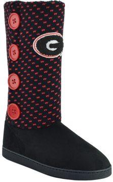 NCAA Women's Georgia Bulldogs Button Boots