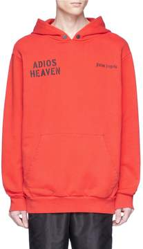 Palm Angels 'Adios Heaven' photographic print hoodie
