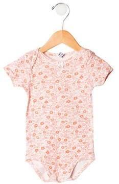 Petit Bateau Girls' Floral Bodysuit