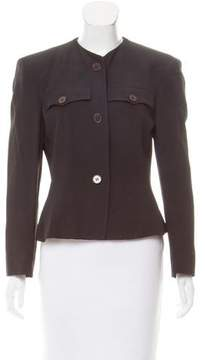 Emporio Armani Structured Button-Up Jacket