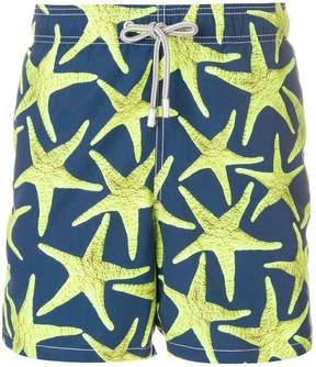 MC2 Saint Barth starfish print swim shorts