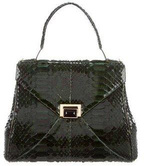 Kara Ross Trinity Python Lady Bag