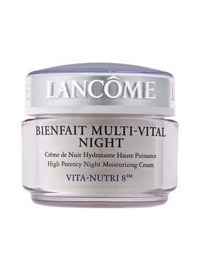 Lancome Bienfait Multi-Vital Night High Potency Night Moisturizing Cream Vita-Nutri 8