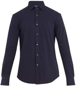 Polo Ralph Lauren Logo-embroidered cotton-piqué shirt