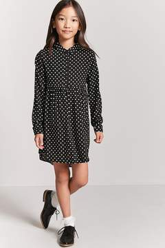 Forever 21 Girls Polka Dot Dress (Kids)